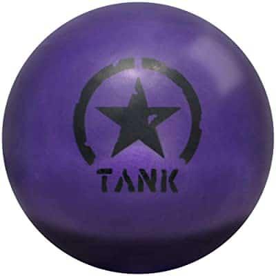 Motiv Tank Purple Urethane Bowling Ball, 15lb